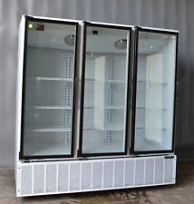 3 Door Master-bilt Self-Contained Cooler, AA Store Fixtures