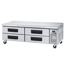 4 Drawer Chef Base 74""