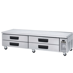4 Drawer Chef Base 96""