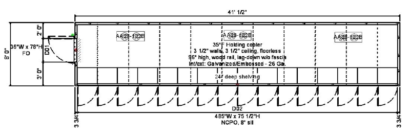 Finish Line Motors >> 16-Glass Door Display Cooler