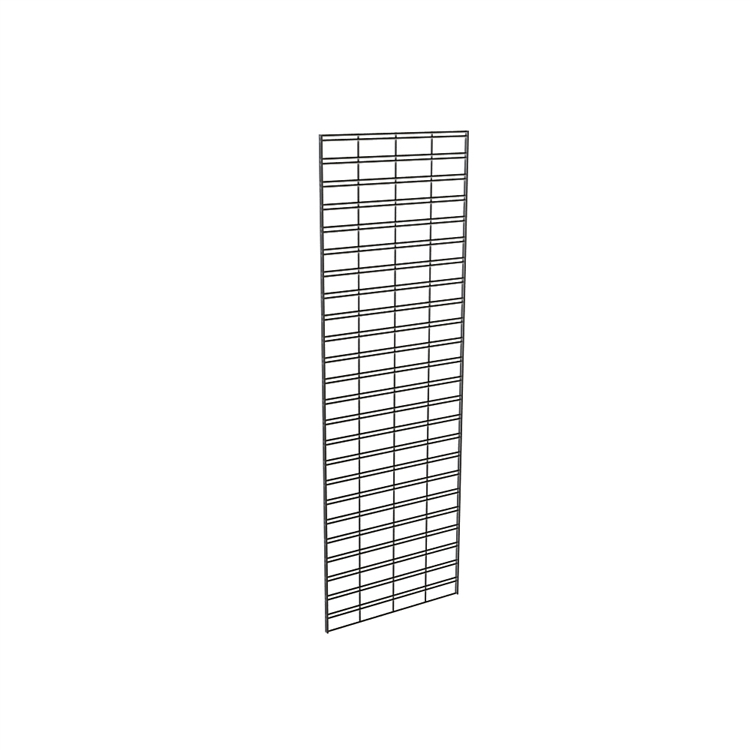 3 Pack Black Slatgrid Panels Aa Store Fixtures