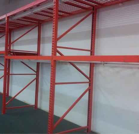 Red Pallet Racking Aa Store Fixtures Used Shelving