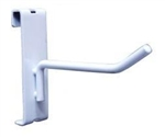 WTE-H10_main - White Gridwall Hooks - Box of 96, AA Store Fixtures