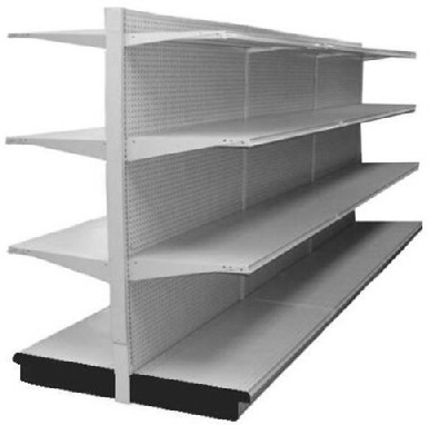 Used 12 Grey Madix With Base And 18 Adjustable Shelves