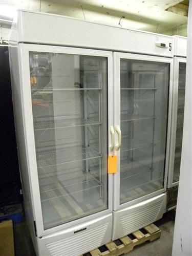 Walk In Coolers >> Used 2 Door Hussman Freezer, AA Store Fixtures, Used ...