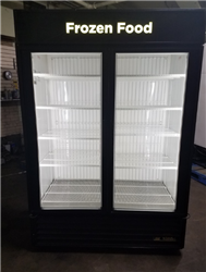 2 Door True Self-Contained Freezer, AA Store Fixtures