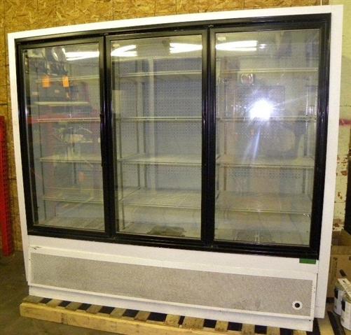 Used 3 door zero zone freezer aa store fixtures used coolers and alternative views planetlyrics Images