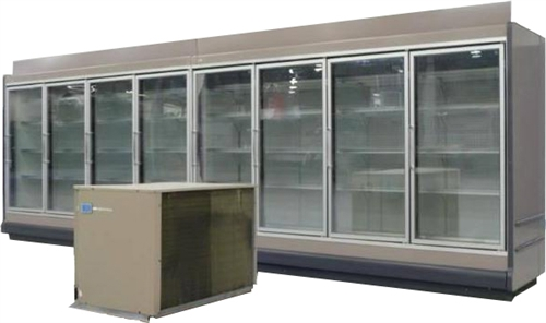 8 Endless Glass Display Cooler Aa Store Fixtures Used