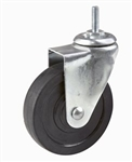 "ACT4 - 4"" Rubber Clothing Rack Casters, AA Store Fixtures"