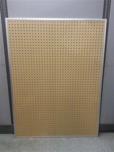 Used Stainless Steel Tables >> Clearance, Aluminum Framed Pegboard