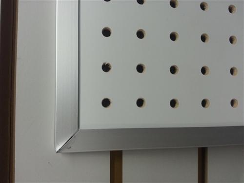 Clearance Aluminum Framed Pegboard