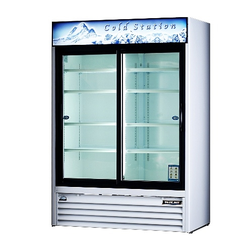 Alternative Views  sc 1 st  AA Store Fixtures & 3 door coolers refrigerator display coolers pop beverages ...