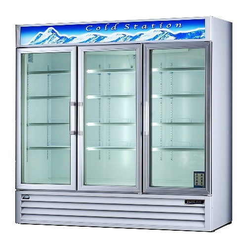 3 Door Coolers Refrigerator Display Coolers Pop