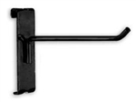 BLK-GH_main - Black Gridwall Hooks - Box of 96, AA Store Fixtures