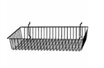 24 x 12 x 4 All Purpose Slatwall Baskets (Pack of 6)