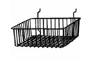 12 x 12 x 4 All Purpose Slatwall Baskets (Pack of 6)