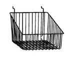 12 x 12 x 8 Sloping Slatwall Baskets (Pack of 6)