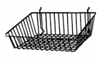 15 x 12 x 5 Sloping Slatwall Baskets (Pack of 6)