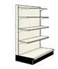 Used 3' endcap unit with 4 shelves