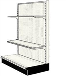 Used 4' endcap unit with 2 shelves