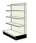 Reconditioned 4' endcap unit with 4 shelves
