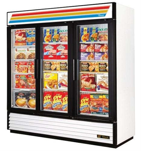 3 door freezer commercial freezer ice cream frozen foods glass true gdm 72f 3 door glass freezer new planetlyrics Choice Image