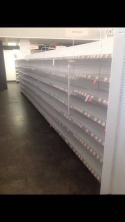 Used 16ft. Gondola Island Shelving
