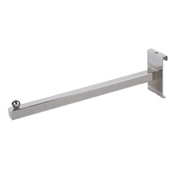 "GW/11_main - 12"" Square Tubing Faceout for Gridwall, AA Store Fixtures"