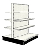 Used 4' gondola run with base and 6 adjustable shelves