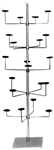 K26 - Stationery Millinery Tree, AA Store Fixtures