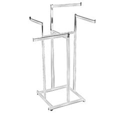 High Capacity Straight Arm 4 Way Clothing Racks Aa Store