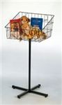 OF SDB - Grid Basket with Stand, AA Store Fixtures