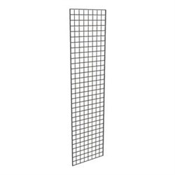 P3BLK_main - 3 Pack Black Gridwall Panels, AA Store Fixtures