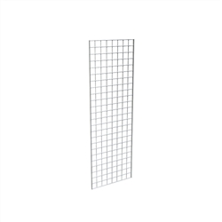 P3GW_main - 3 Pack Chrome Gridwall Panels, AA Store Fixtures