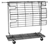 RCA/5 - Rolling Clothing Rack Shelf Bottom, AA Store Fixtures