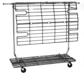 rca5 rolling clothing rack shelf bottom aa store fixtures