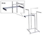 RV/24 - Twist On Shelf Support Arm Rec. Tub, AA Store Fixtures
