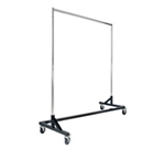 RZK/8 - Economy Z Rack Clothing Rack, AA Store Fixtures