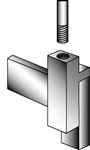 SC20 - Magnet Rt.Angle Sign Holder Clamps, AA Store Fixtures