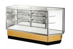 Corner Combo Full Glass Display Case Showcases