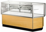 Corner Combo Half Glass Display Case Showcases