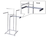 TV/24 - Twist-On Shelf Support Arms Sq. Tube, AA Store Fixtures