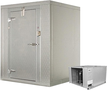 8x6 walk-in storage freezer