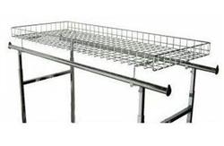 Clothing Rack Grid Basket Topper For Hangrail Aa Store