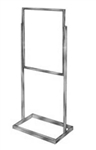 bh24_main - Rect Tube Standing Sign Holders, AA Store Fixtures
